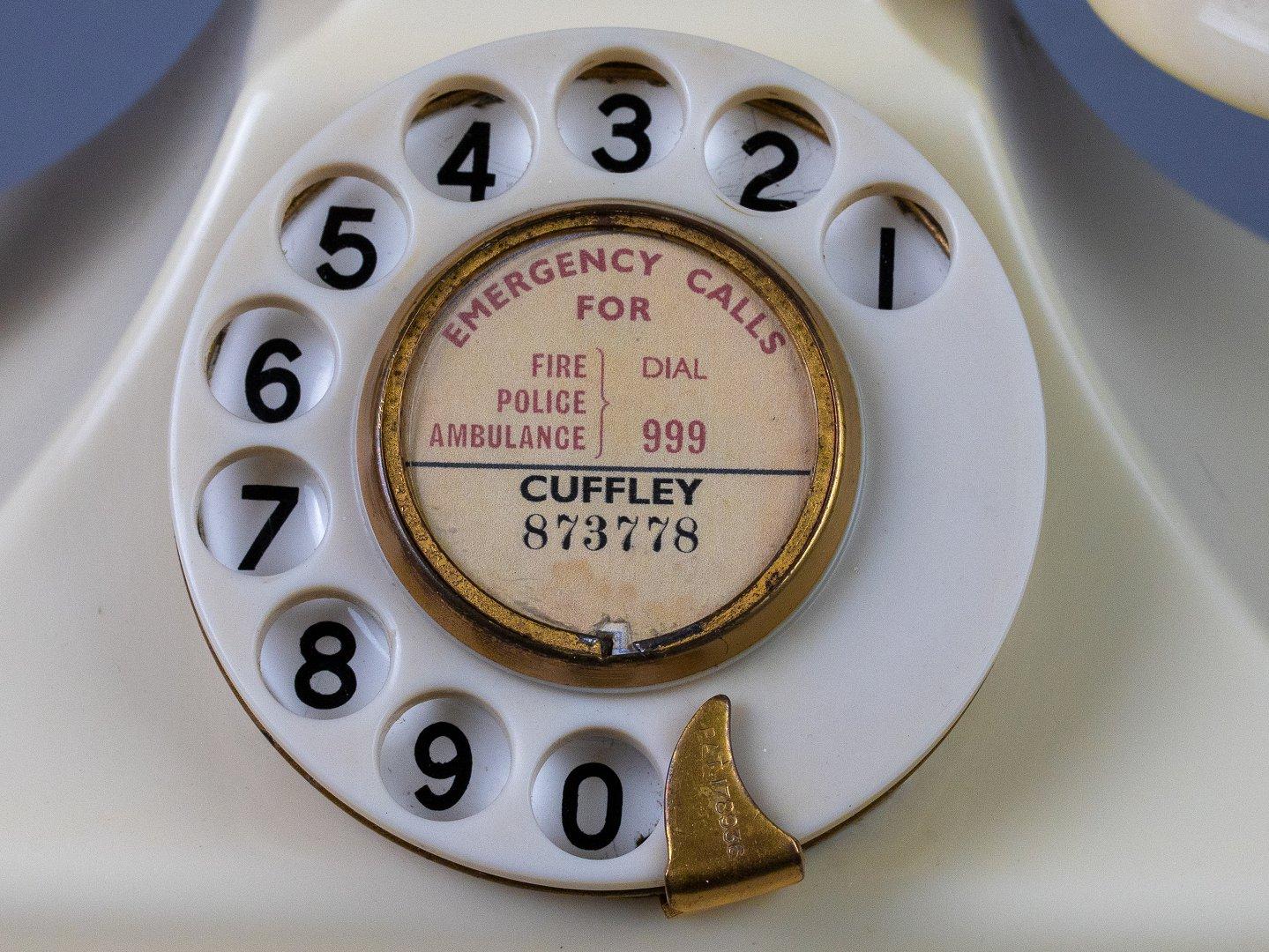 Plastic dial
