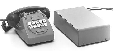 Tele 730 and sender